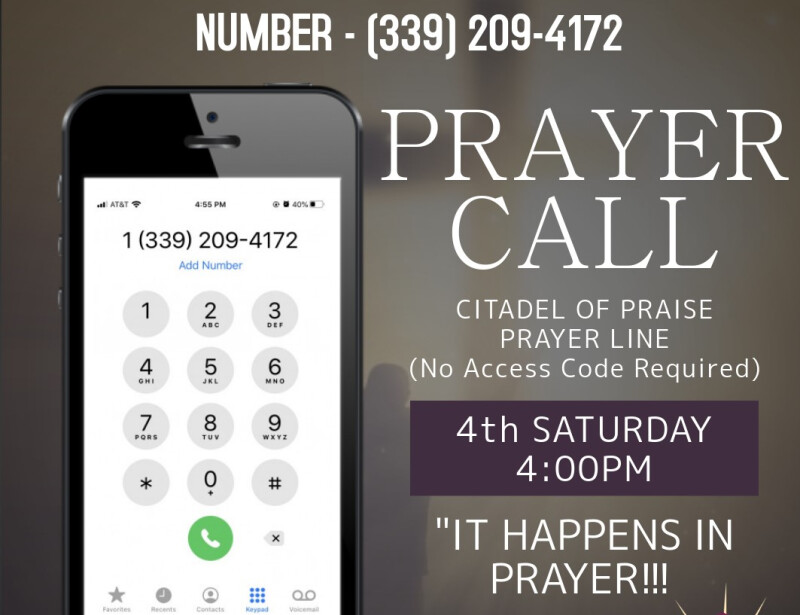 Corporate Prayer Conference Call
