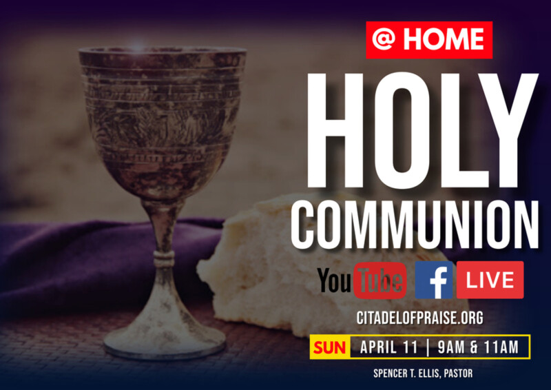11:00AM @Home Communion Service