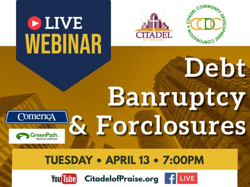 Debt, Bankruptcy & Foreclosure Webinar